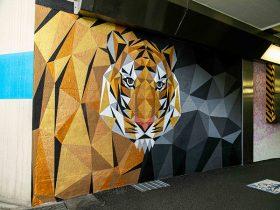 うめきた地下道壁画