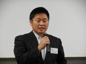 新会長の富澤浩史氏