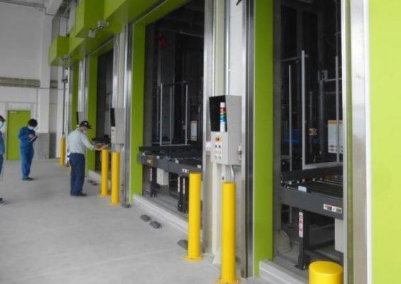 アイカ工業 福島工場に自動倉庫が完成