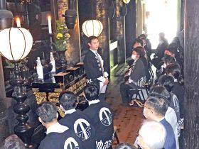 竹延グループ 清水寺で入社式