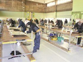 鋼橋塗装技能検定 各地で実技試験を実施