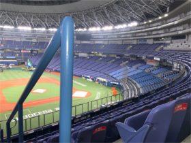 大日本塗料の皮脂軟化対策塗料 京セラドーム大阪に採用