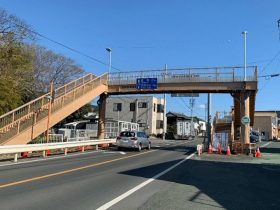 歩道橋の塩害対策改修に 大日本塗料「タイエンダー下塗」