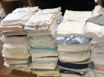 川上塗装工業 衣類ゴミをウエスに再利用