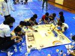 日本ペイント 三重県の小学校で塗装イベント