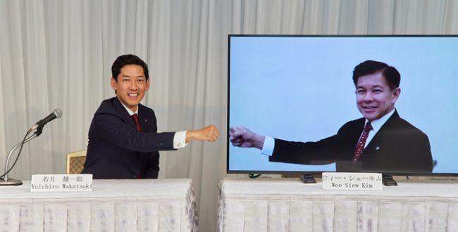 日ペHD 共同社長に若月・ウィー氏